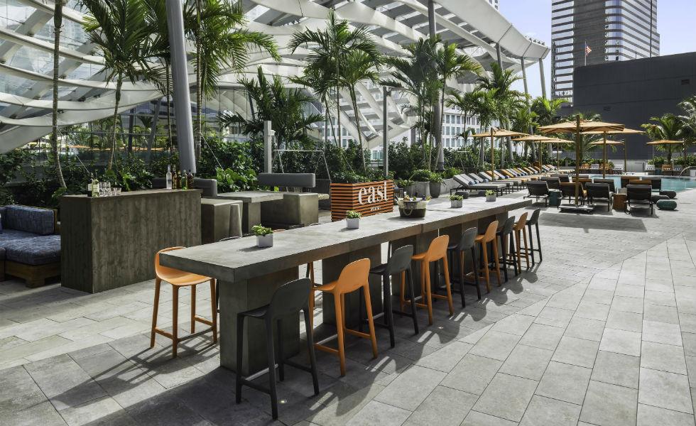 Hotel East Miami, todo un lujo contemporáneoEsto es el subtítulo