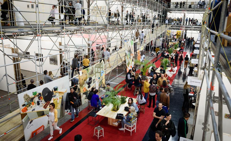 Feria de Arte Material se consagra por sexta ocasión en la CDMXEsto es el subtítulo