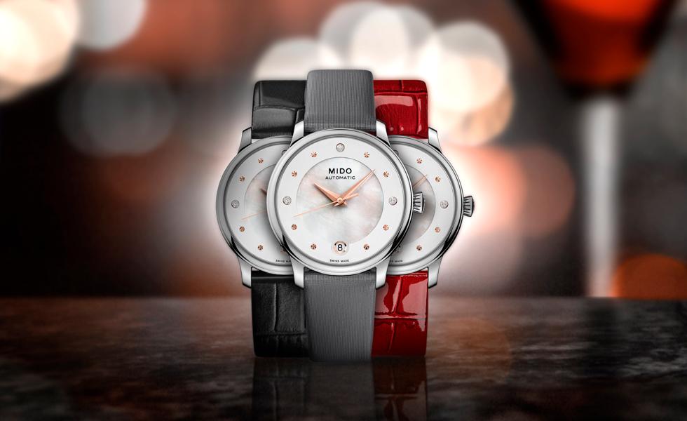 Audacia femenina, el nuevo reloj de MidoEsto es el subtítulo
