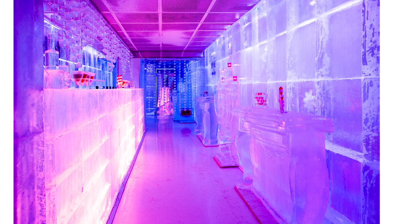 Ice Kube Bar (París, Francia)