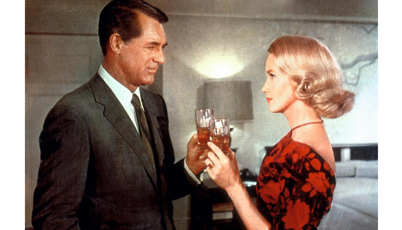 Cary Grant y Eva Marie