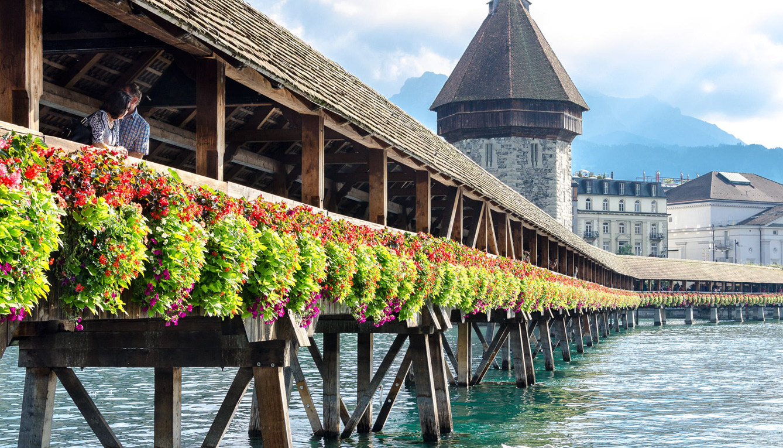 Kapellbrücke (Lucerna, Suiza)
