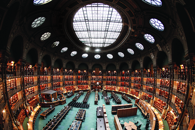 Biblioteca Naciona del Francia (París)