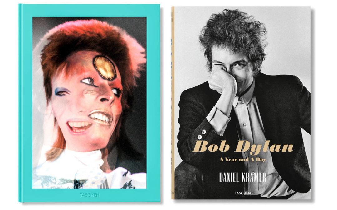 Las fotos nunca vistas de Bob Dylan y David BowieSubtítulo