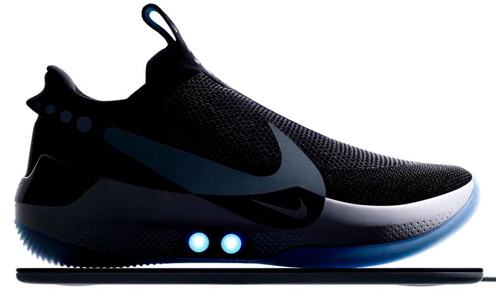 Nike Adapt: los tenis que se ajustan solosSubtítulo