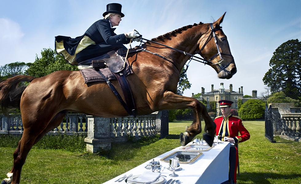 La seducción del caballo: las espectaculares fotos de Uli WeberSubtítulo