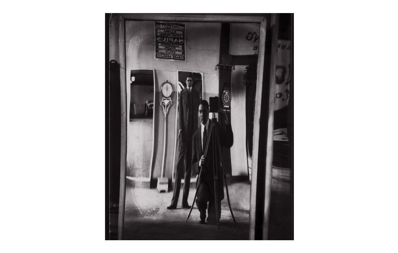 'Autorretrato con Carlo Rim' (1930), de André Kertész