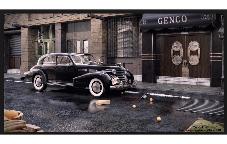 El coche de la mafia