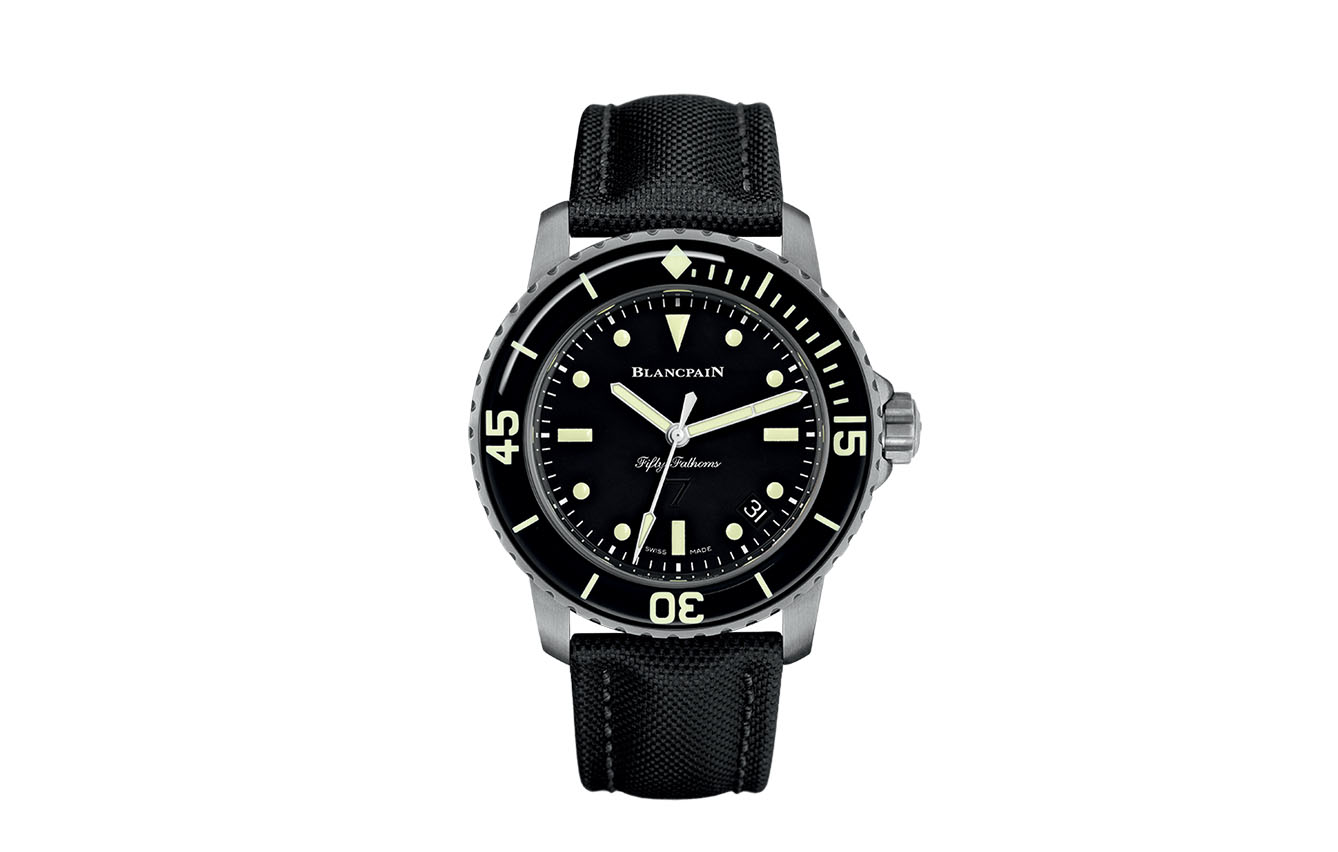 Blancpain, Fifty Fathoms Nageurs de Combat Automatique