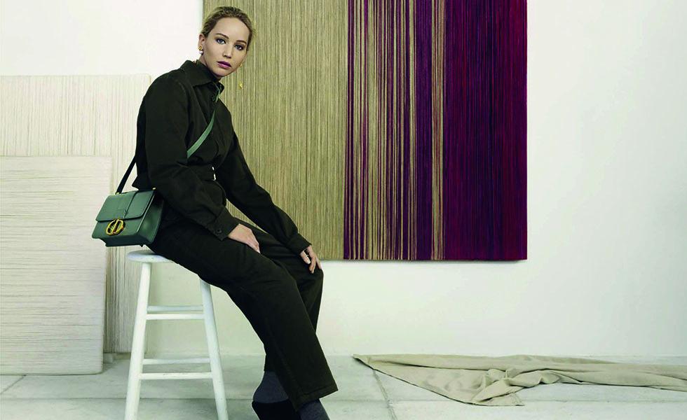 Jennifer Lawrence y su nueva campaña con DiorSubtítulo