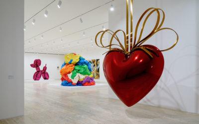 Gran éxito la exposición de Koons y Duchamp en MéxicoSubtítulo