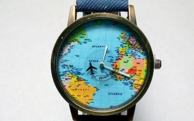 Si eres un amante de los viajes entonces te interesan estos relojesSubtítulo
