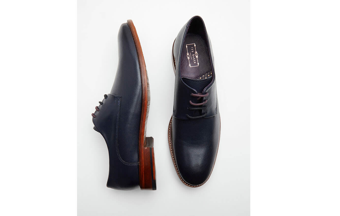 Ted Baker Braythe High-shine Leather Derby Brogues