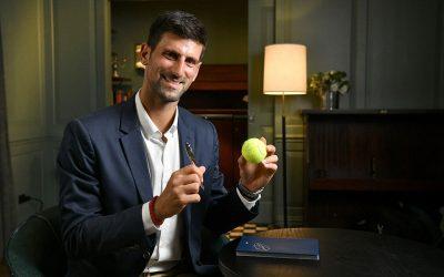 Montblanc y Djokovic se unen en favor de la educación de los niñosSubtítulo