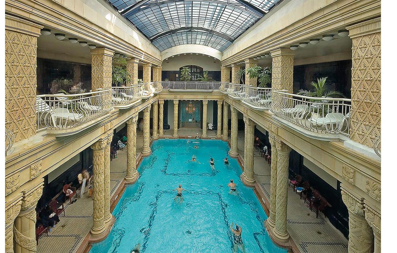 5. GELLÉRT BATHS (Budapest, Hungría)