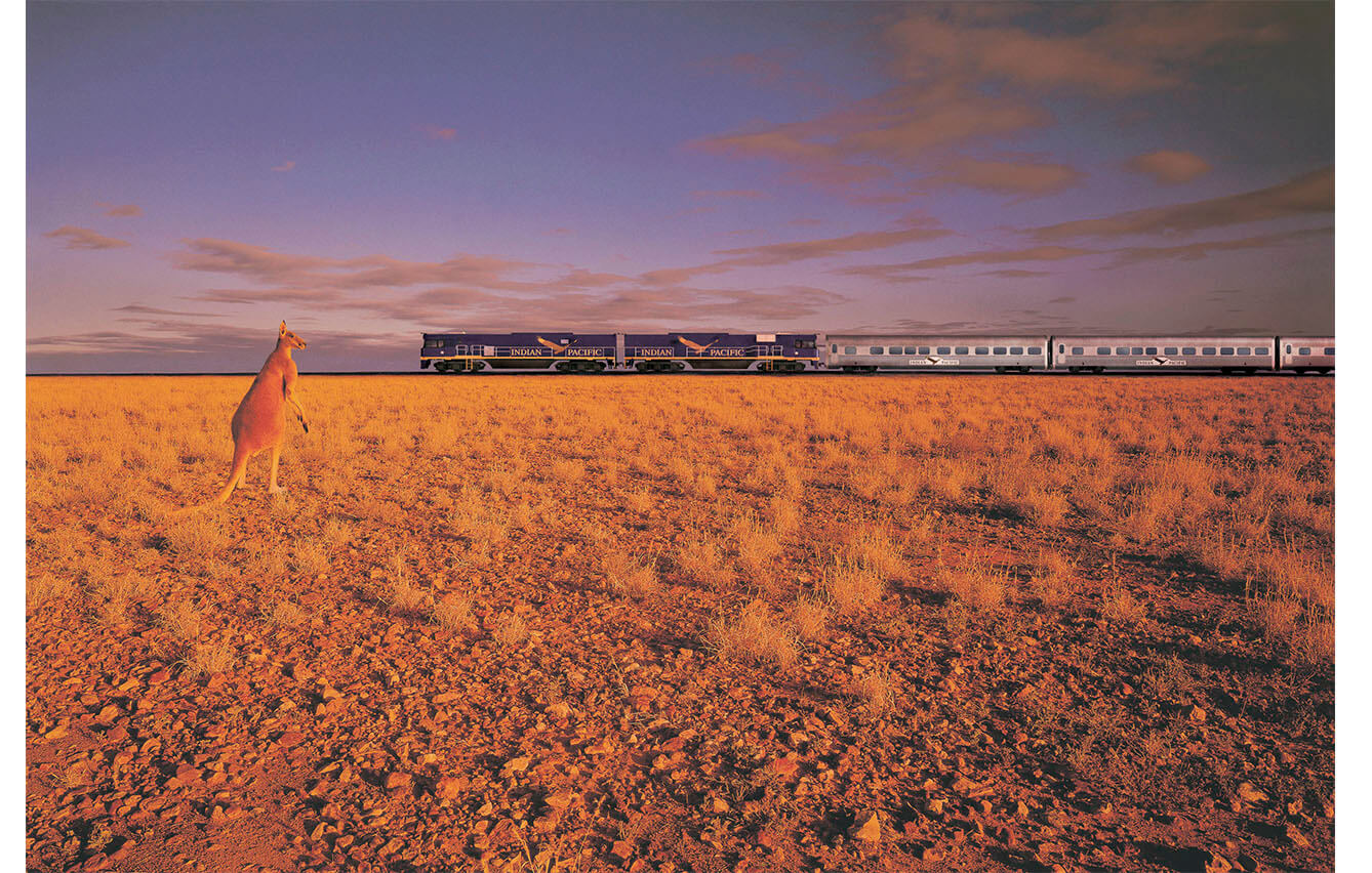 2. THE INDIAN PACIFIC (Australia)
