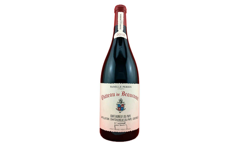 23. Châteauneuf-du- PapeChâteau, Beaucastel,  VINOS INTERNACIONALES (Recomendado por Laura Santander, Sumiller del restaurante Eloise, CDMX)