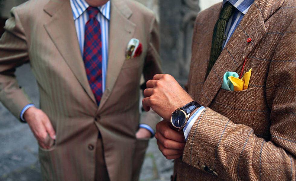 El Gentleman italiano, un pionero del buen vestir y la eleganciaSubtítulo