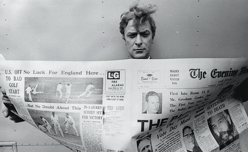 El periódico, un elemento clave para los famosos más poderososSubtítulo