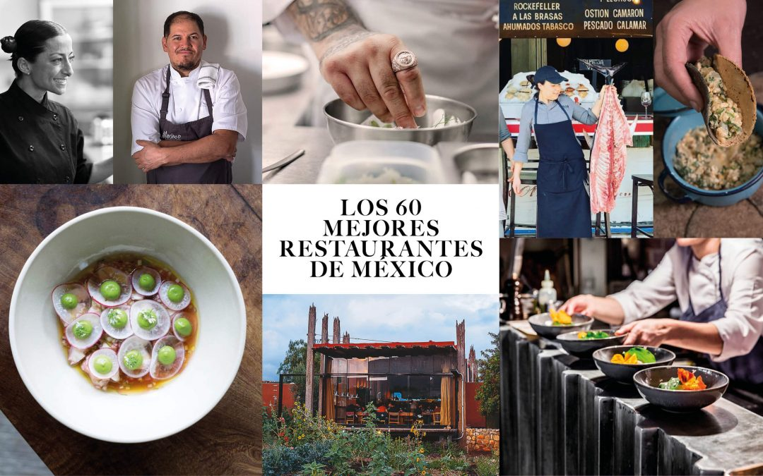 Los 60 mejores restaurantes de MéxicoSubtítulo