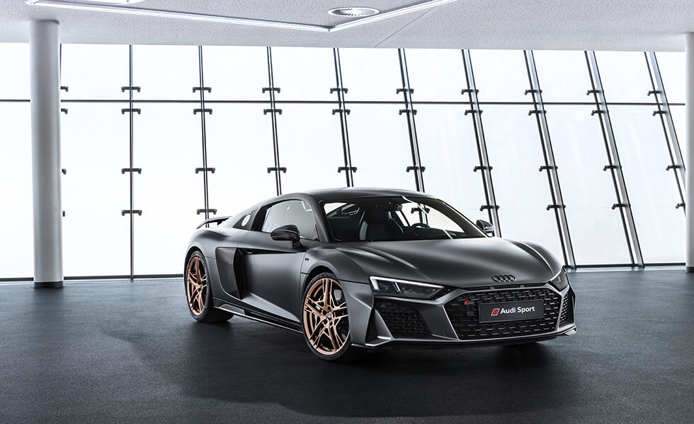 El nuevo Audi R8 V10 Decennium, más elegancia y adrenalinaSubtítulo