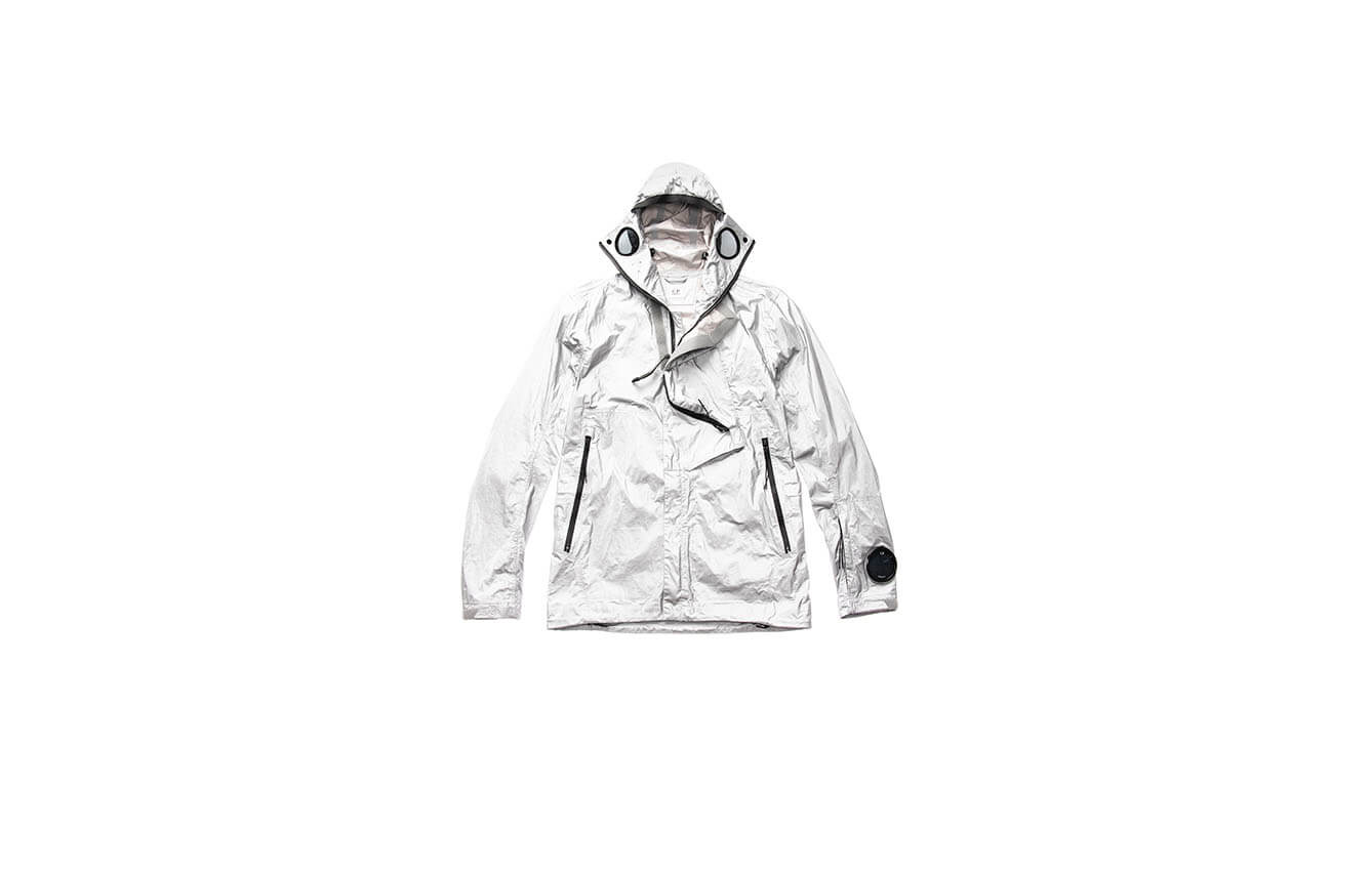 Goggle Jacket Silver
