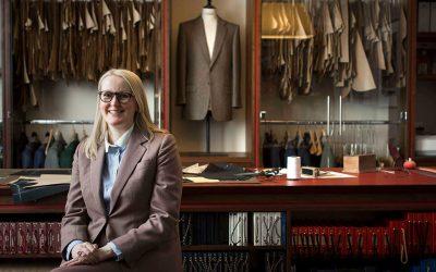Savile Row, a la conquista de la sastrería femeninaSubtítulo