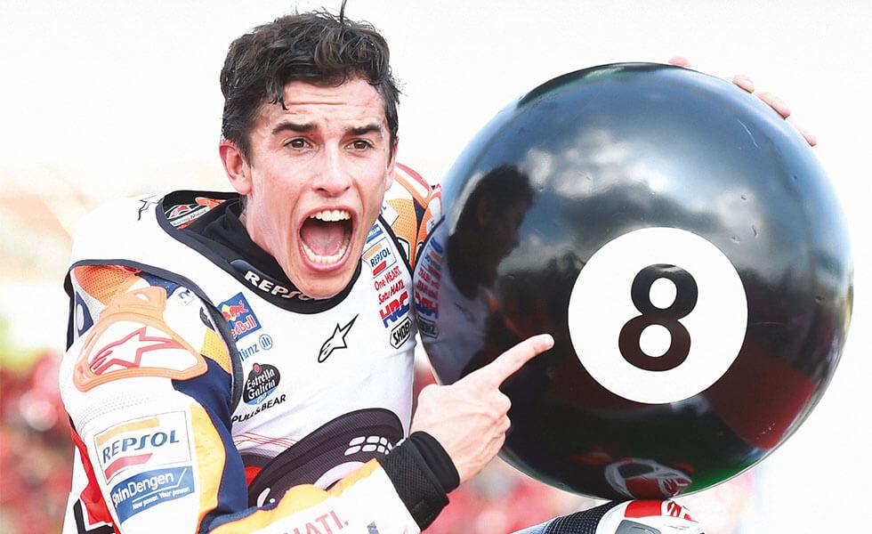 Marc Márquez hace historia con su octavo Mundial de MotoGPSubtítulo