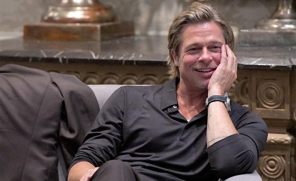 Brad Pitt conquista Los Ángeles con BreitlingSubtítulo