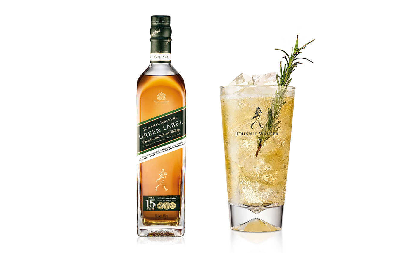 2. 1. LUR, Maridaje Johnnie Walker Green Label