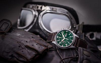 Para los relojes IWC, el verde es el nuevo negroSubtítulo