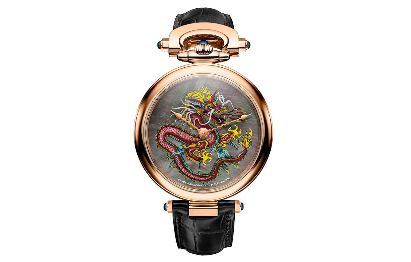 BOVET Amadéo Fleurier 43 Red Dragon