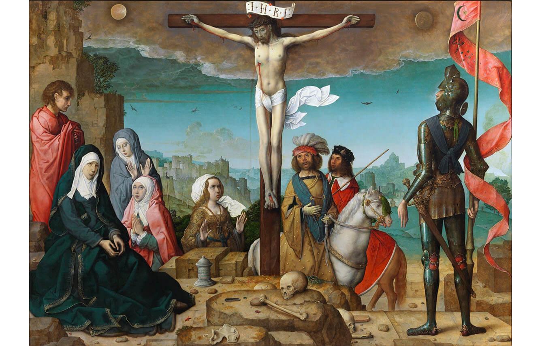1 La Crucifixión, Juan de Flandes (1509-1519)
