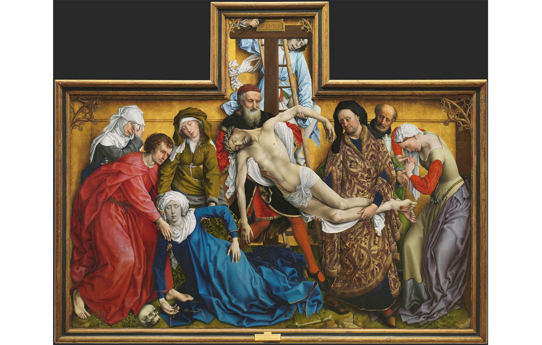 10 El descendimiento, Rogier van der Weyden (1443)
