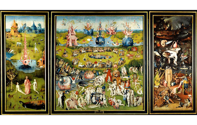 11 Tríptico del jardín de las delicias, El Bosco (1490-1500)