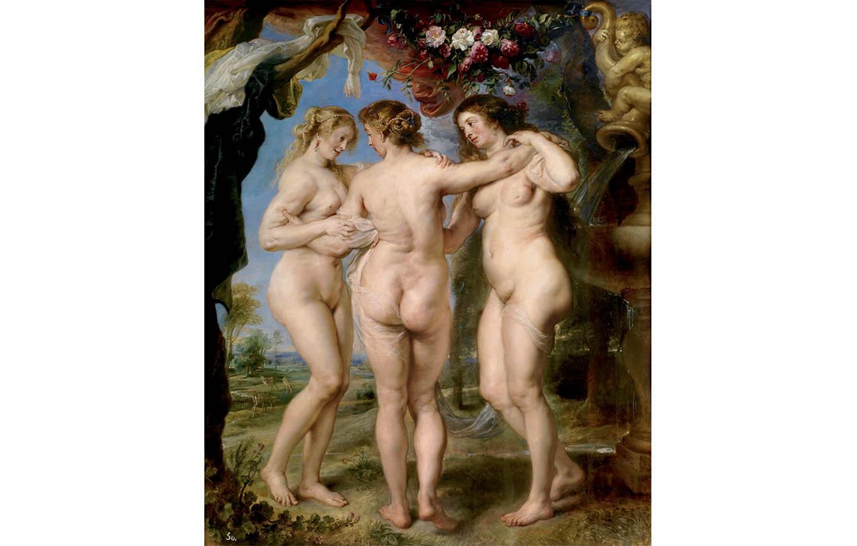 12 Las tres gracias, Rubbens (1630-1635)