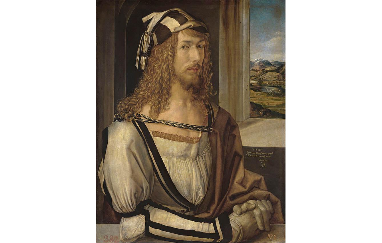 13 Autorretrato, Alberto Durero (1498)