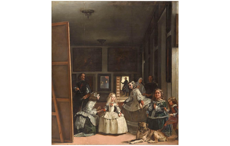 3 Las meninas, Diego Velázquez, (1656)
