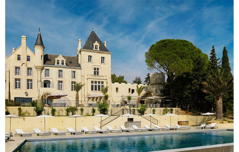 Château Les Carrasses Langeudoc, Francia