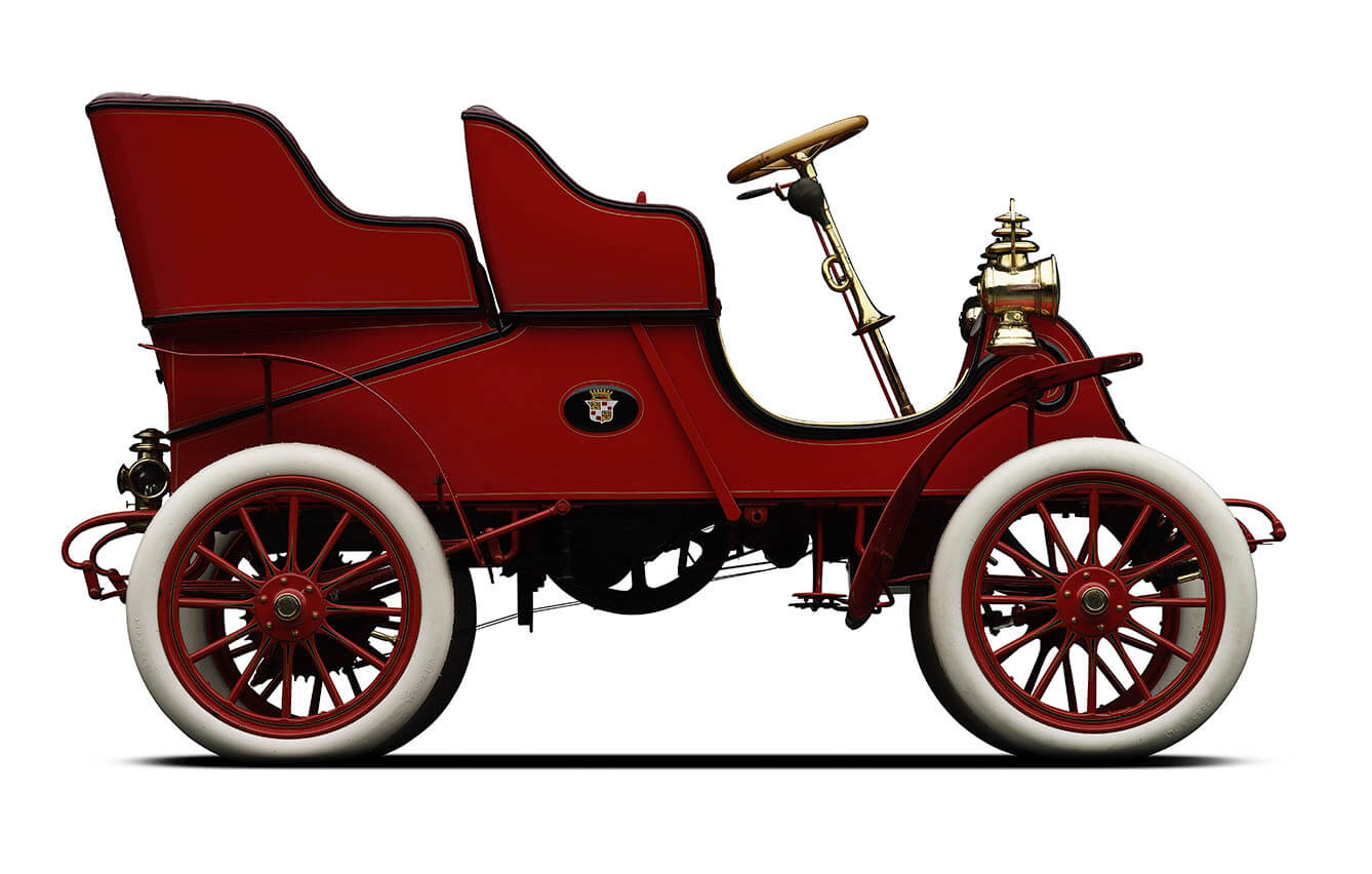 1903, Cadillac Model A Rear Entry Tonneau