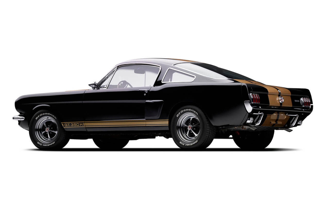 1966, Ford Mustang Shelby 350H