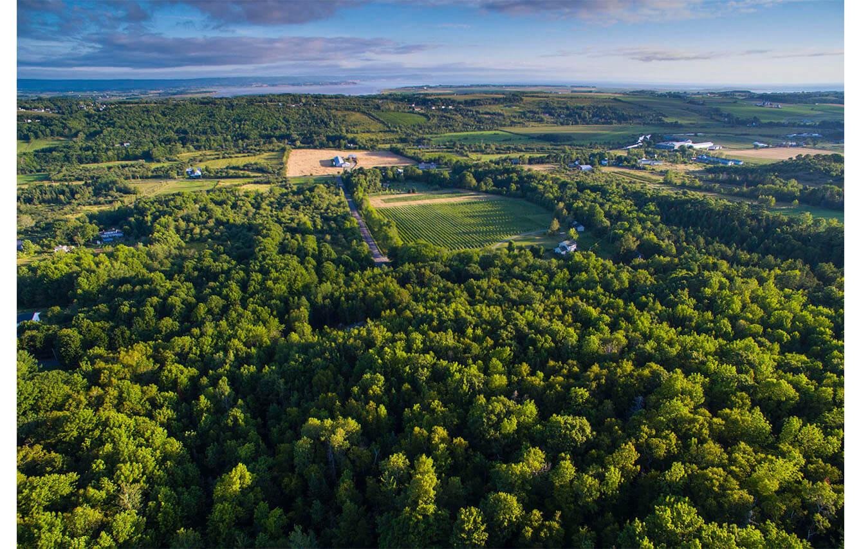 L'Acadie Vineyard Cottages Nova Scotia, Canada