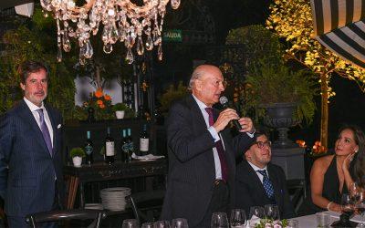 Marqués de Vargas, una gran cena maridaje con la presencia de Don PelayoSubtítulo