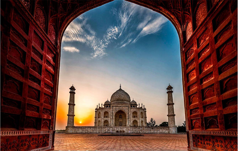 45º Agra, India