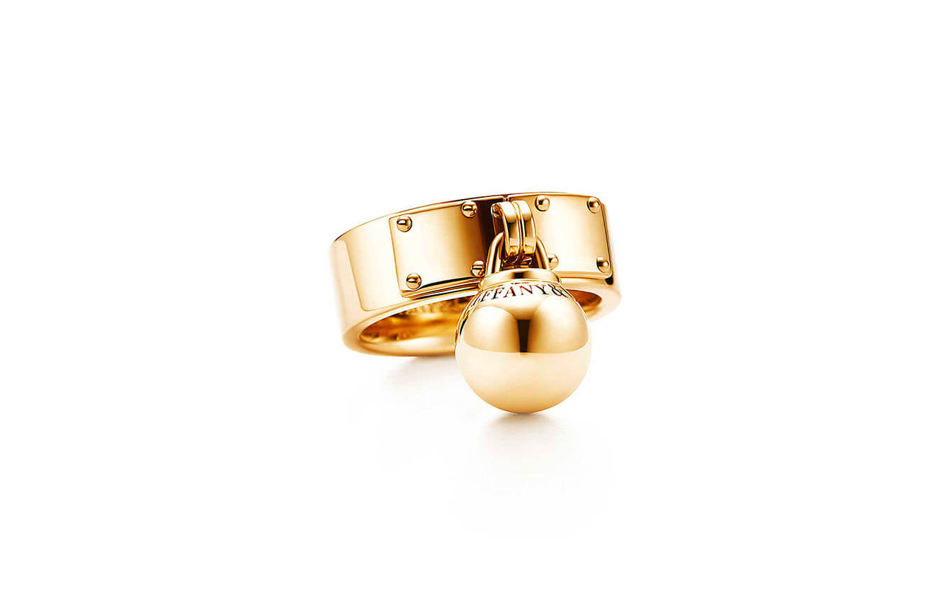 Ball Dangle Ring de Tiffany and Co.
