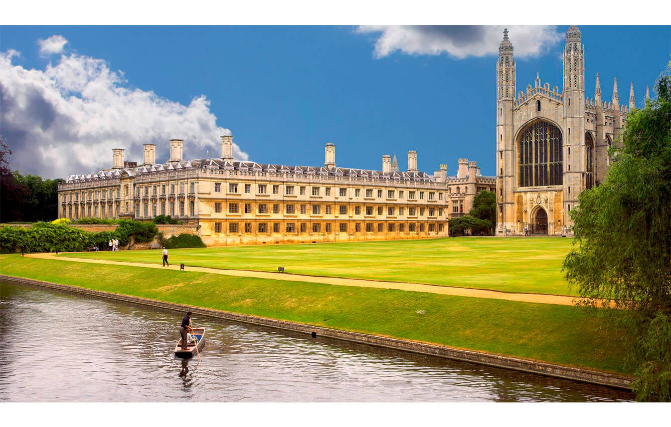 25º Cambridge, Reino Unido