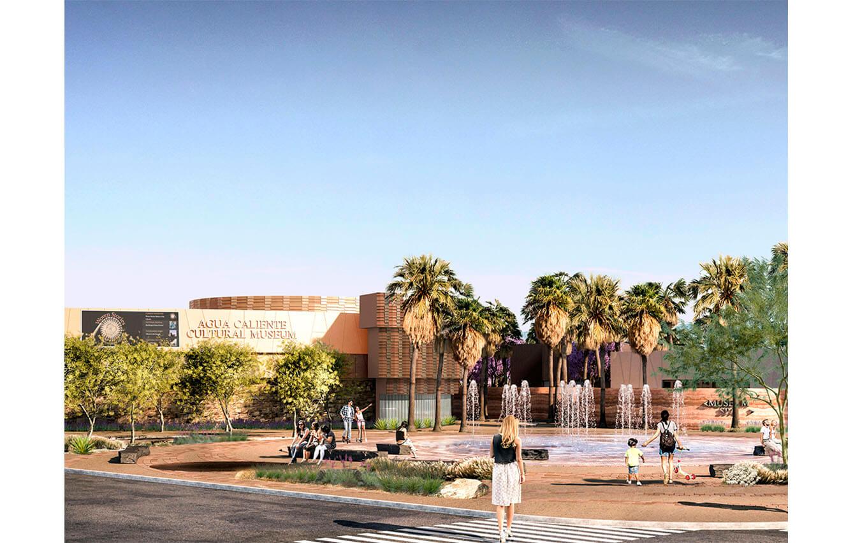 Agua Caliente Cultural Plaza