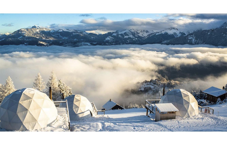 Whitepod, Suiza