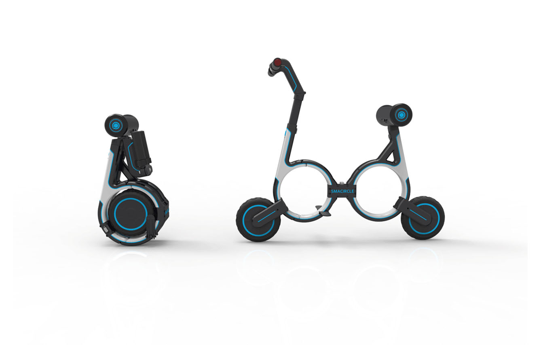 Bicicleta Plegable S1 de SMARCIRCLE