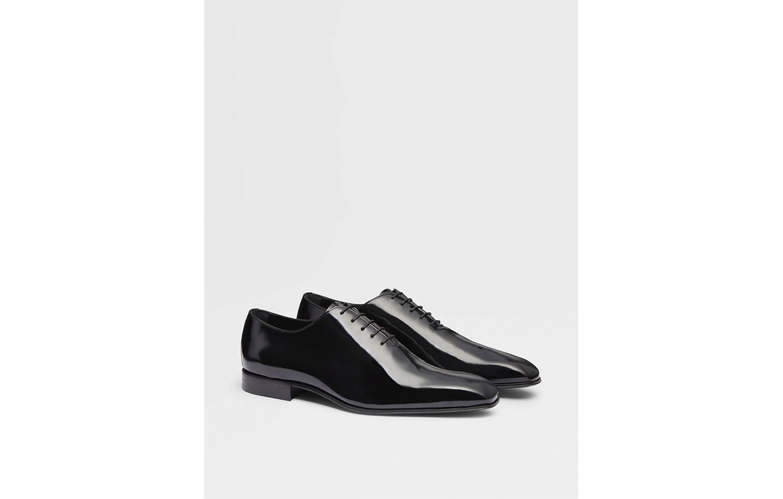 Zapatos Oxford negros de Charol